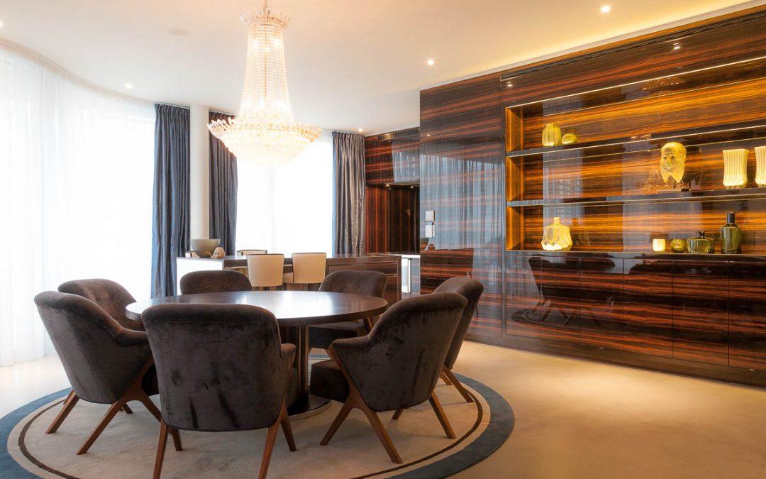 ELK 1 Essbereich mit Küche - Tischlerei für exklusiven ...